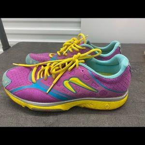 Newton Motion 3 shoes Pink/Aqua/Yellow Size 11